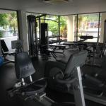 Gym is nice