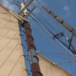 A wonderful experience aboard our first tall ship.