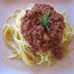 Heerlijke spaghetti bolognese