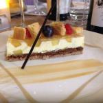Un dessert très fin