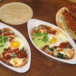 Spanish Baked Eggs for Breakfast