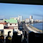 Vista Casa Malecón Habana