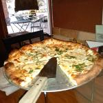 white pizza at Bocca Lupo Pt. Charlotte