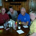 Allen, Joy, Ken and Marie at Spragpole.