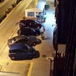 son las vistas desde el balcón de la 3ra. planta