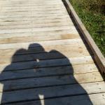 Passadiço no Lac Lamoura