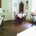 Augustus T. Zevely Inn breakfast room