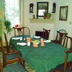 Augustus T. Zevely Inn dining room