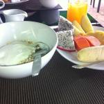 Healthy breakfast at Happy Days, great value and keeps you going all day!