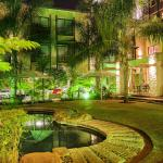 Premier Hotel Pretoria Pool at Night