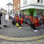 The lively Wessex band on Carnival day