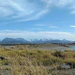 View from campsite toward end of Spit