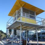 Life Guard Tower in the Gold Coast