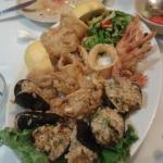 Мезе из морепродуктов 😻