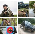 Activities at the Coniston Estate range from falconry, 4x4 off-road driving to shooting and fish