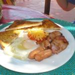Praia de Peixe breakfast
