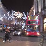 クリスマスのロンドン