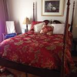 The bed was so comfortable!!