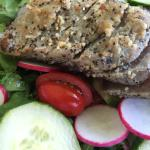 Seared tuna salad (but chef will cook more if you wish)