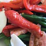 Italian salad (in-house roasted red peppers!!)