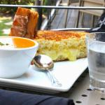 Grilled Cheese and Tomato Bisque Soup