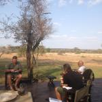 Rhino Walking Safaris at Plains Camp Foto