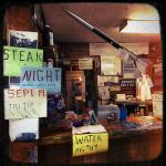 The cafe rocket! Hand written signs!