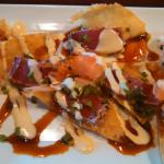 Ahi Tuna Won Tons