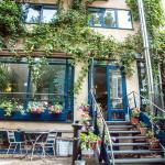 Solar hôtel côté jardin (à votre disposition pour un moment de détente)