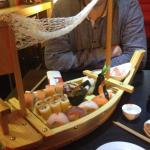 Chef's Special - Sushi boat!