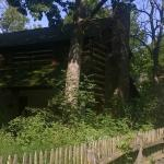1804 log cabin and summer kitchen