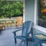 Comfortable wraparound porch.