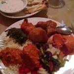 I would encourage you to try the buffet the first visit. The plate represents many items, and ne