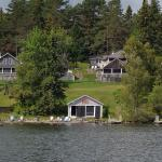 View of Hunter Cove from the lake
