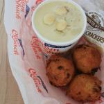 Clamcakes and Chowder