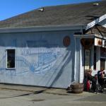 Steveston Coffee building side mural
