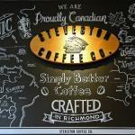 Steveston Coffee Co - rear wall