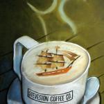 Steveston Coffee Co wall Pano