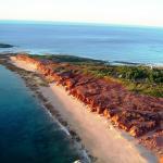 Bird's eye view of Cape Leveque