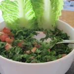 "Lebanese salad called ""Tabouleh"""