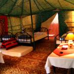 Royal Tent with private shower & bathroom