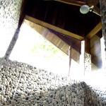 SemiOutdoor Shower on a Treehouse