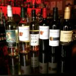 Bar selection of House Wines