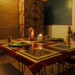 Candle light dinner at The Satvik Resort