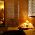 Comfortable ethnic rooms at The Satvik Resort