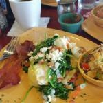 Yummy breakfast at D'Lox