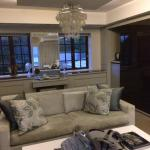 Living area, Selwyn Suite