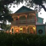 The B&B around sunset