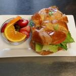 Tuna Salad Croissant Sandwich