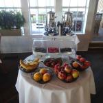 Breakfast buffet at the Henderson Park Inn